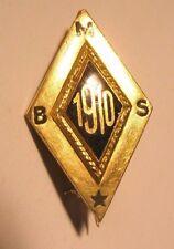 1910 B. M. S. Vintage Lapel Pin gift