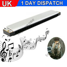 More details for top seller professional 24 hole harmonica key c mouth metal organ for beginners