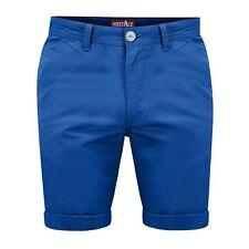 "Mens Chino Shorts Bottom Knee Length Cargo Combat Pant 2017 Design Summer Royal Blue 34"" Waist"