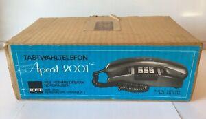 RFT Apart 2001 NEU&OVP Tasten Telefon Typ 585-130 rot DDR VEB Nordhausen Sammler