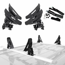 Universal Canoe Kayak Carrier Roof Rack Mount Holder Kit for Most Cross Bars