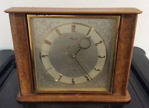 Vintage Wooden Kienzle Mantle Clock Not Working For Spares/ Repair (PW)