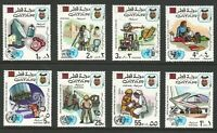 Qatar, 1972, Scott #323-330, Mint, Never Hinged, Very Fine