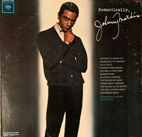 JOHNNY MATHIS: PRE-OWNED LP:ROMANTICALLY VG/G+