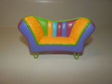 "Groovy Girls MINIS Doll Furniture LIVING ROOM SUPERNOVA 4"" DOLLHOUSE COUCH SOFA"