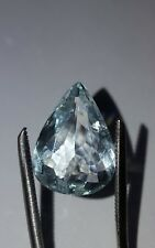 ❤JAYNES GEMS BEAUTIFUL  5CT PEAR CUT AQUAMARINE