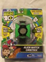 Brand New Ben 10 Alien Watch Omnitrix Cartoon Network Alien Sounds & Lights