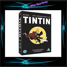 THE ADVENTURES OF TINTIN - THE COMPLETE COLLECTION ** BRAND NEW BOXSET**