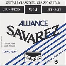 SAVAREZ Corda MI-E-6 per Chitarra Classica ALLIANCE 546J Tensione Blu