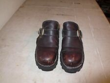 Cat Caterpillar Brown Leather Women's Shoes Size 10W