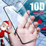 Xmas Tempered Glass For IPhone X XS MAX XR 8 7 6 10D Full Cover Screen Protector