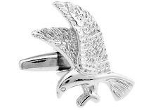 Bird Cufflinks Prey Hawk Osprey Eagle Wedding Fancy Gift Box Free Ship USA