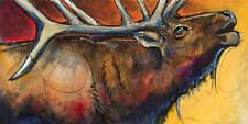Ed Anderson Bugle Once Giclee on Canvas 36 x 72