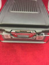 GENESIS CD2-6B Mid-Length Sterilization Container w/Dent No Basket See Listing