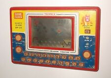 1983 Tronica Game-Clock & Calculator DRAGON FIGHTER DF-22 LCD Handheld Game