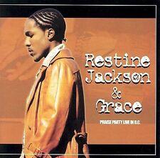Restine Jackson - Praise Party Live in D.C. CD 2002 Gospel SEALED
