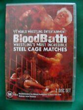 WWE BLOODBATH - STEEL CAGE MATCHES Region 4 DVD