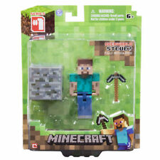 "MINECRAFT OVERWORLD STEVE 3"" FIGURE - ARTICULATED BRAND NEW IN BOX"