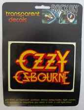 OZZY OZBOURNE ROCK ON DECAL CAR WINDOW MIRROR DECALS ROCK & ROLL KEY PRODUCTIONS
