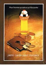 PUBLICITE ADVERTISING 034   1979   PIERRE CARDIN  parfum pour Homme