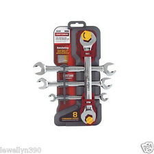 Craftsman 4pc METRIC Ratcheting Open End Wrench Set  21937 NEW!