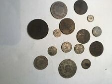 OTTOMAN EMPIRE COINS - 15 Silver and Copper Coins
