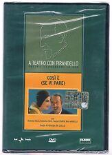 A TEATRO CON PIRANDELLO COSI' E' SE VI PARE RAI TRADE DVD EDITORIALE SIGILLATO!!