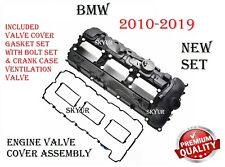 Engine Valve Cover With Crankcase Vent Valve,Gasket Set & Bolts Assembly For BMW