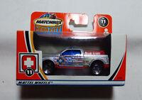 Matchbox  Superfast- Hero City MB 11 Notruf Sondereinsatz Fahrzeug  97787  - OVP