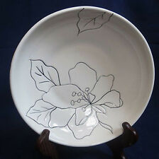 LAURIE GATES ANNA WHITE 8 5/8 ''ROUND PASTA/ VEGETABLE SERVING  BOWL