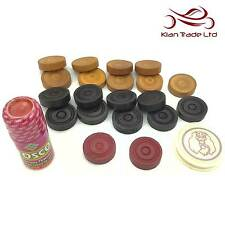 Carrom Game Set Coins Stricker Powder Classic Indian Karom