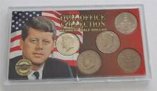 Oval Office Collection Kennedy Half Dollar 5 Coin Set 1968, 1976 (2), 1992 (2)