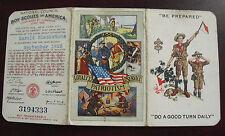 Vintage 1926 Boy Scouts of America Membership Card