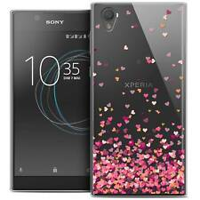 """Coque Crystal Gel Pour Sony Xperia L1 (5.5"""") Extra Fine Souple Sweetie Heart Fla"""