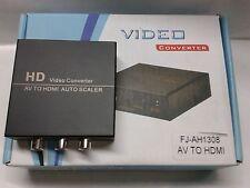 Audio/Video to HDMI Converter Box