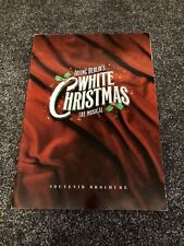 WHITE CHRISTMAS Programme. London Musical West End. Christian Gibson, Tim Flavin