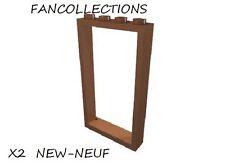LEGO-X2 Reddish Brown Door Frame 1 x 4 x 6 Type 2 ,  60596  NEUF