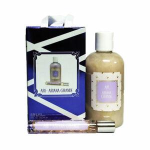 Ari by Ariana Grande 8 oz Bubble Bath & 7.5 ml Eau De Parfum Rollerball Gift Set