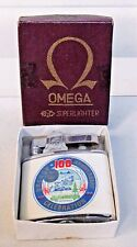 1959 OREGON STATE 100th ANNIVERSARY advertising cigarette lighter MINT IN BOX