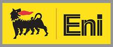 "ENI AGIP Premium Vinyl Decal Sticker - 9"" Wide - Racing Bike Car Truck"