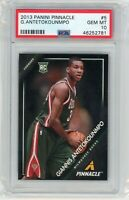 2013 PANINI PINNACLE GIANNIS ANTETOKOUNMPO PSA 10 RC MVP RARE HARD GRADE