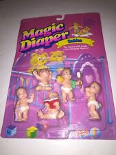 Babies Magic Diaper 1992 Galoob Color Changers SEALED in package