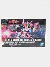 Bandai Gundam RX-9/C NARRATIVE GUNDAM C-PACKS 1/144 Model Kit JAPAN