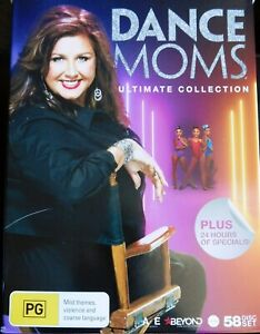 * REDUCED * boredom buster DANCE MOMS ULTIMATE 170hr 58 Disc BOXED DVD COL