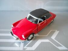 WELLY - CITROEN DS 19 CABRIOLET ROSSO RED 1:39 11,5 cm LEGENDARY  [MV7]