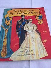1982 Princess Diana Book Of Fashion Paper Dolls Uncut Unused