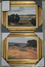 Threshold 074-01-4945 11 x 14 inch Framed Canvas with Molding Antique