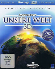Faszination unsere Welt 3D Limited Ediiton Blu-ray Real 3D 10 Disc + 2D Version