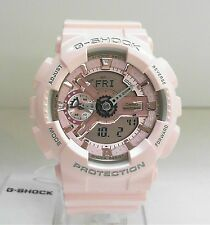 New Casio G-Shock S Series Women's Ana-Digi World Time Watch GMA-S110MP-4A1