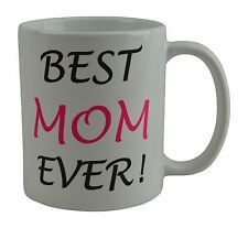 Best Funny Coffee Mug Cup Gift Best Mom Ever Present Mother's Day Mommy Grandma